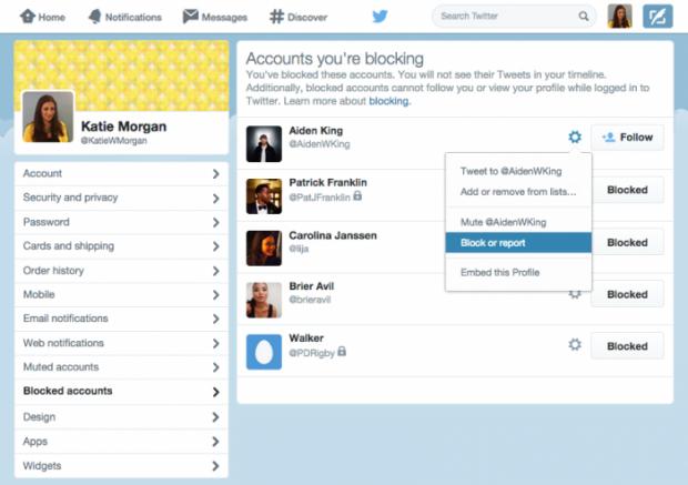 twitter blocked accounts