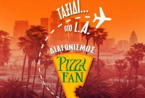 Pizza Fan Los Angeles diagonismos