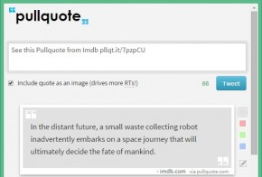 Pullquote quote tweet