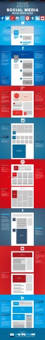 Social Media Images Sizes Guide 2015 Infographic