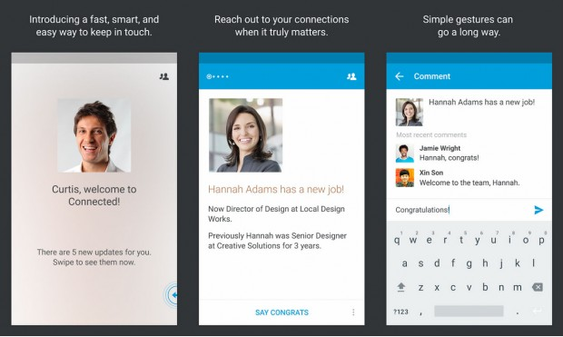 LinkedIn Connected app for Android