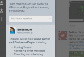 Share Twitter accounts via TweetDeck Teams