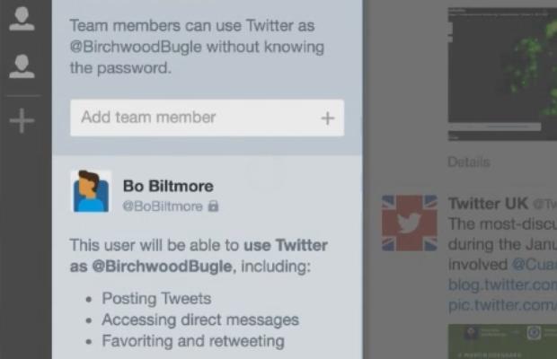 Share Twitter accounts via TweetDeck Teams