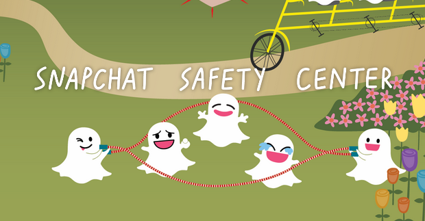 Snapchat Safety Center