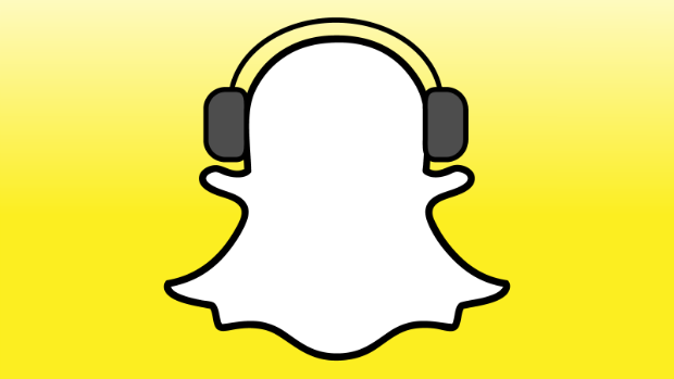 Snapchat allows music playing while recording video