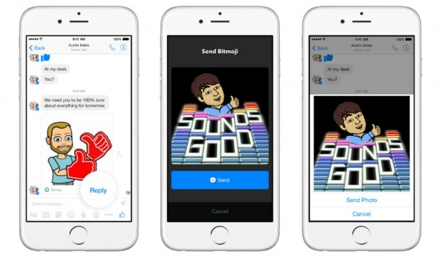 Facebook Messenger as a platform