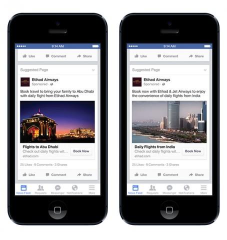 Facebook expats targeting