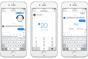 Facebook messenger money transactions