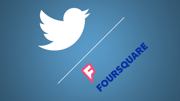 Twitter collaborates with Foursquare