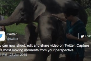 Twitter native videos can be embedded