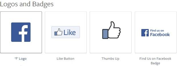 Facebook Logos and Badges