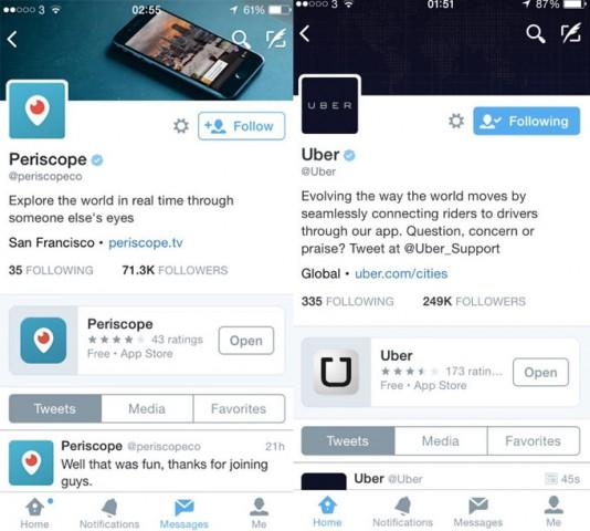 Twitter pin app