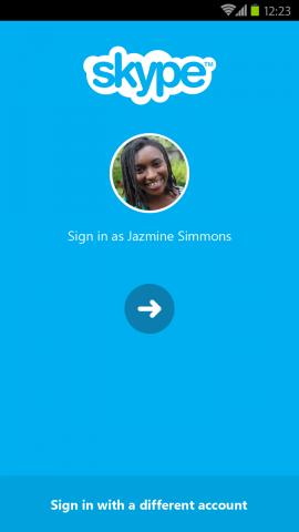 είσοδος Skype 5.5
