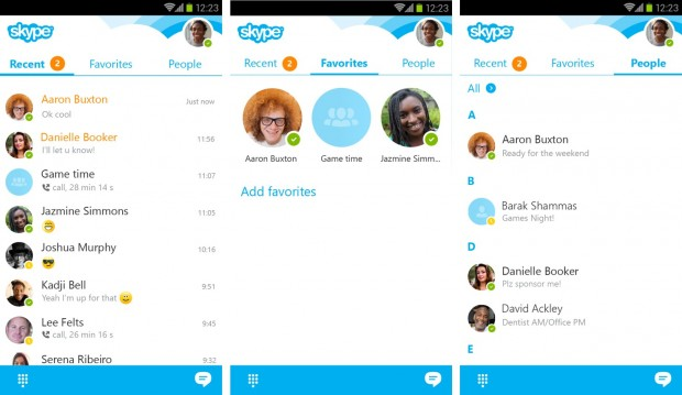 skype for android 5.6