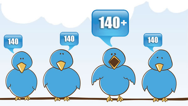 tweets characters