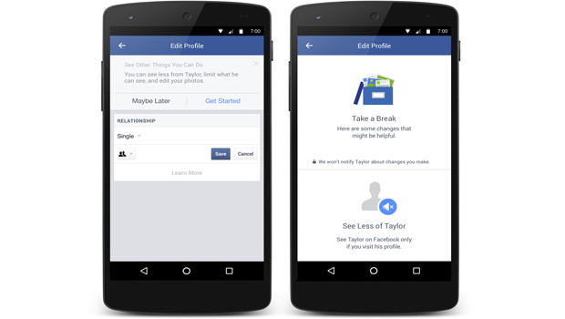 facebook for divorced