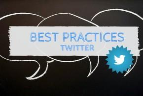 Best Practices Twitter
