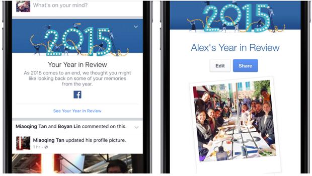 year in facebook