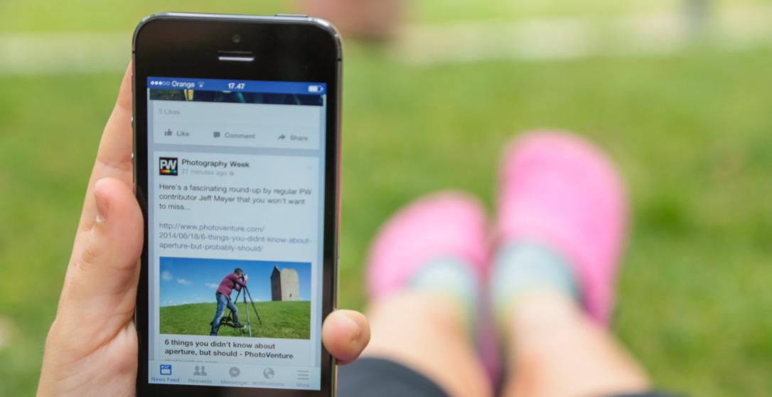 facebook article rank