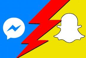 Messenger-vs-Snapchat-náhleďák