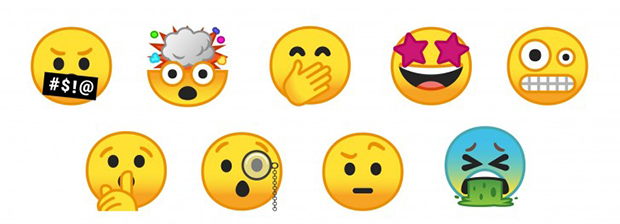 nougat-emoticons-2